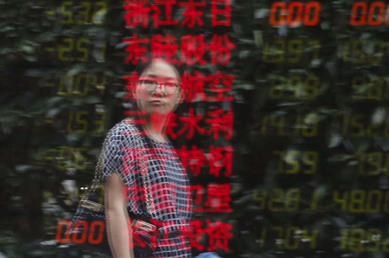 Asian Stocks Up Despite Massive Shrink in Chinese Economy