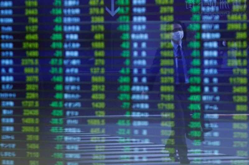 Asian shares stumble ahead of EU Summit, U.S. stimulus talks