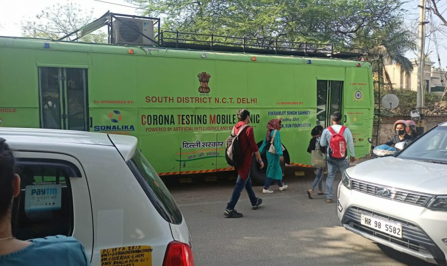 Delhi's COVID surge continues as over 4000 cases reported 1st time this year; positivity rate 4.64%