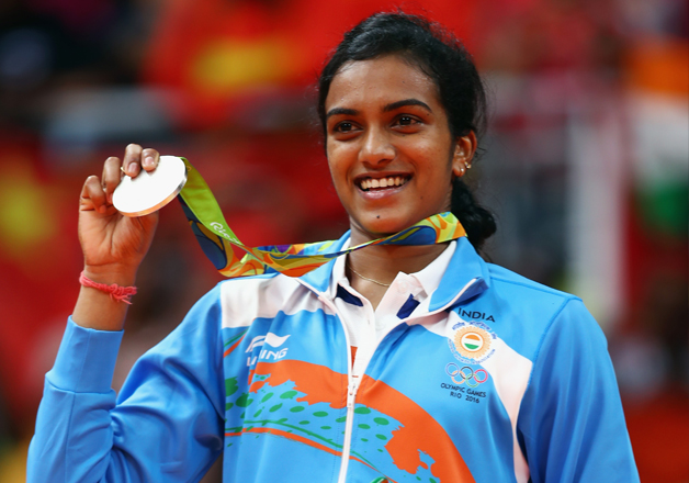 Badminton star P V Sindhu scripts history on Super Sunday